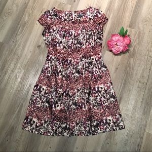 Gabby Skye Fit and Flare Dress